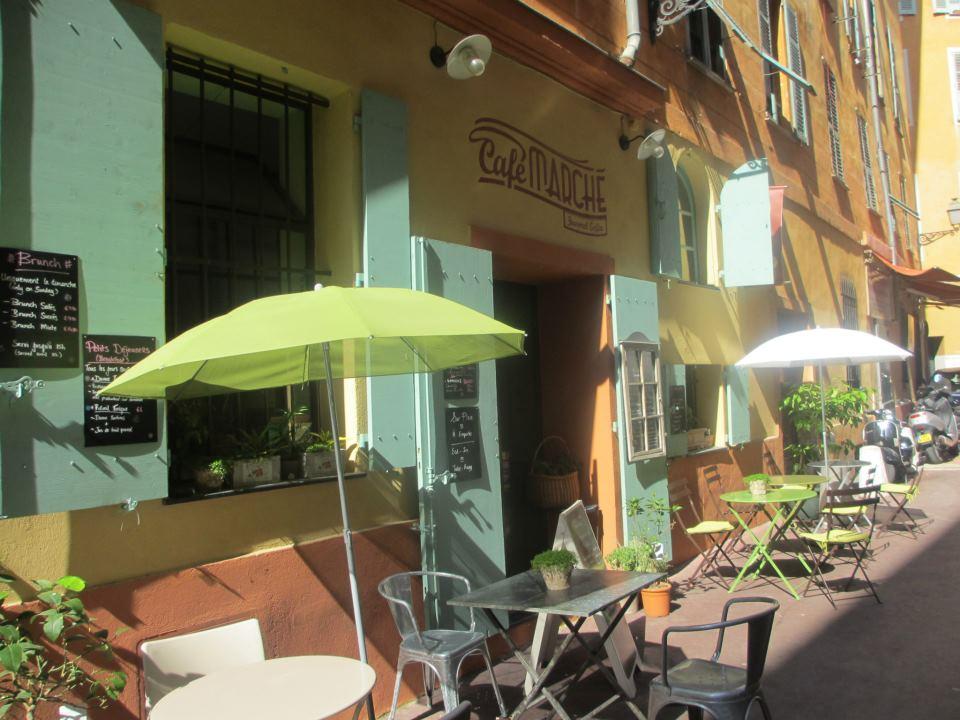 Café marché