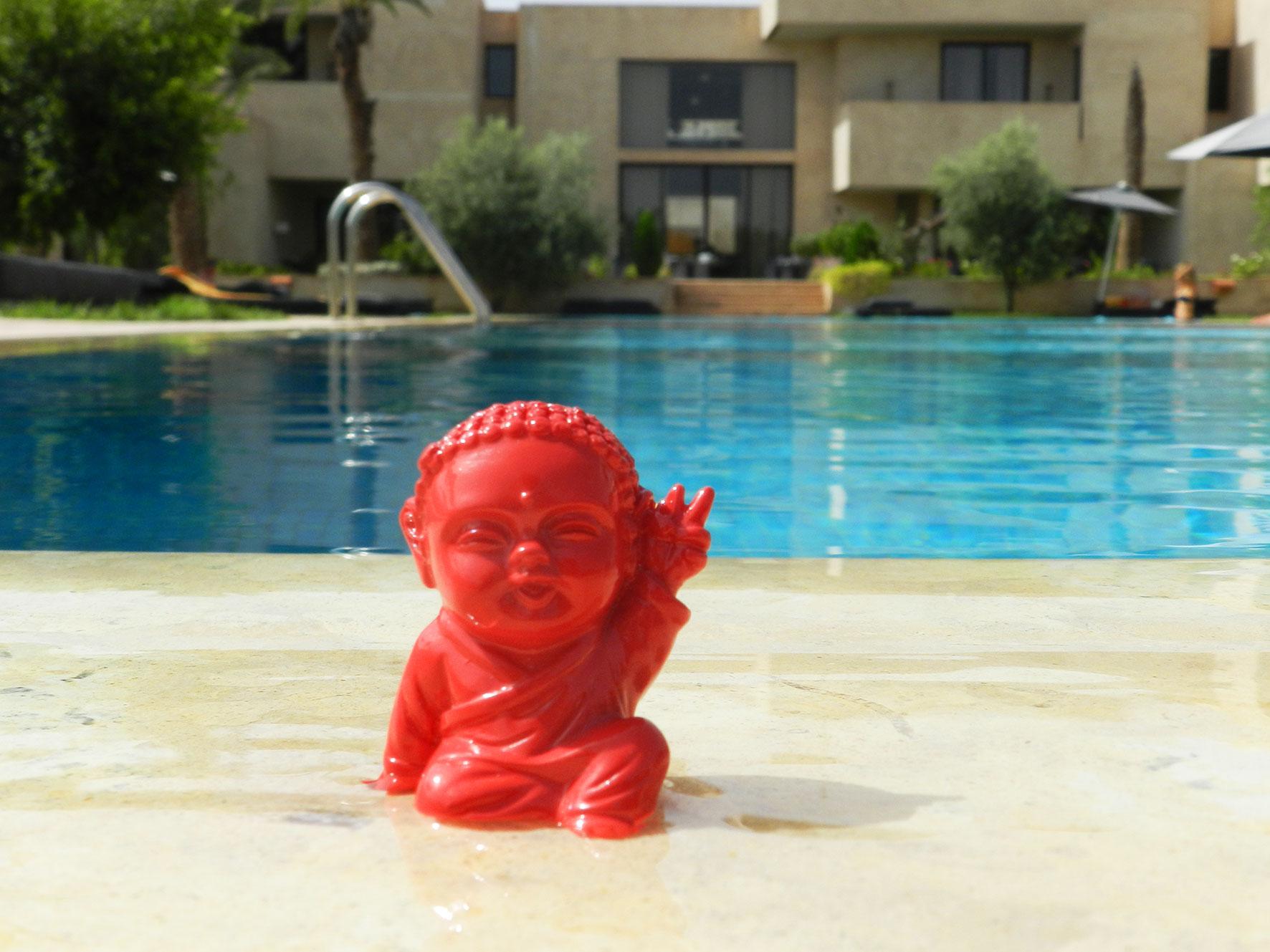Cécile Na à Marrakech