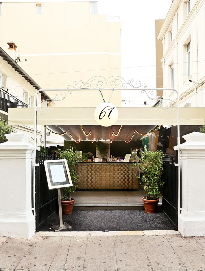 61 Le restaurant - Cannes