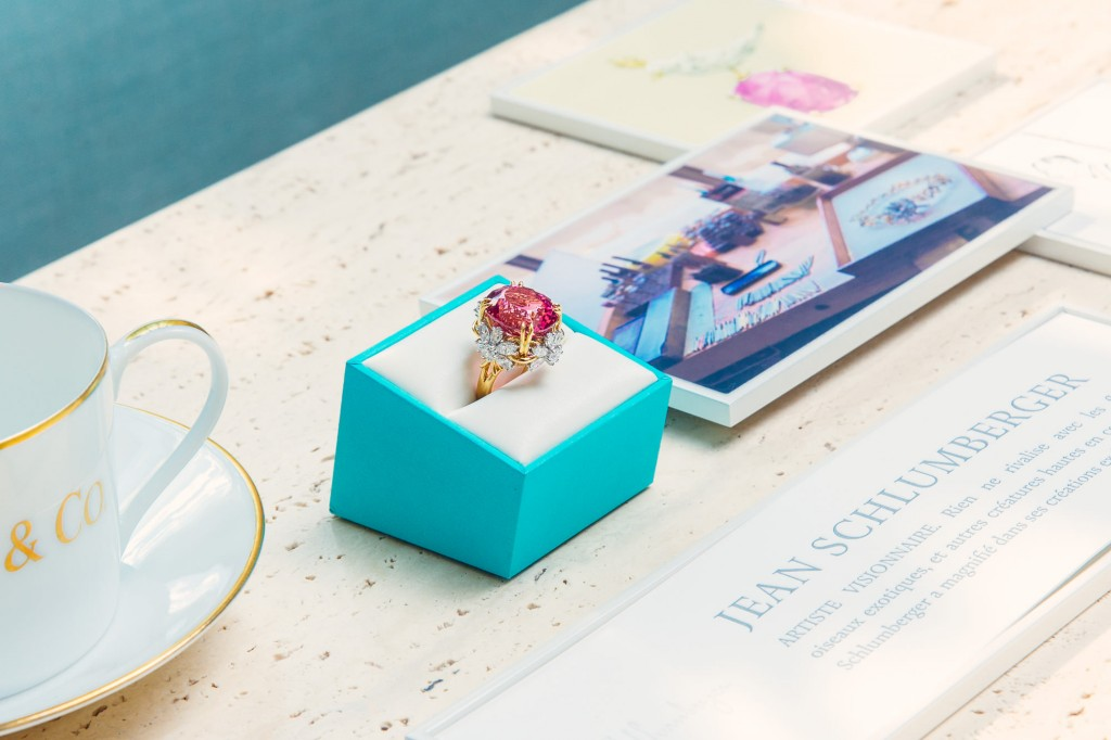 Tiffany & Co. Travelling collection